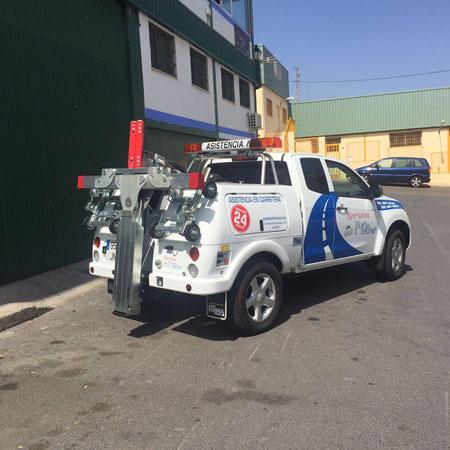 coche asistencia carretera Roquetas de Mar